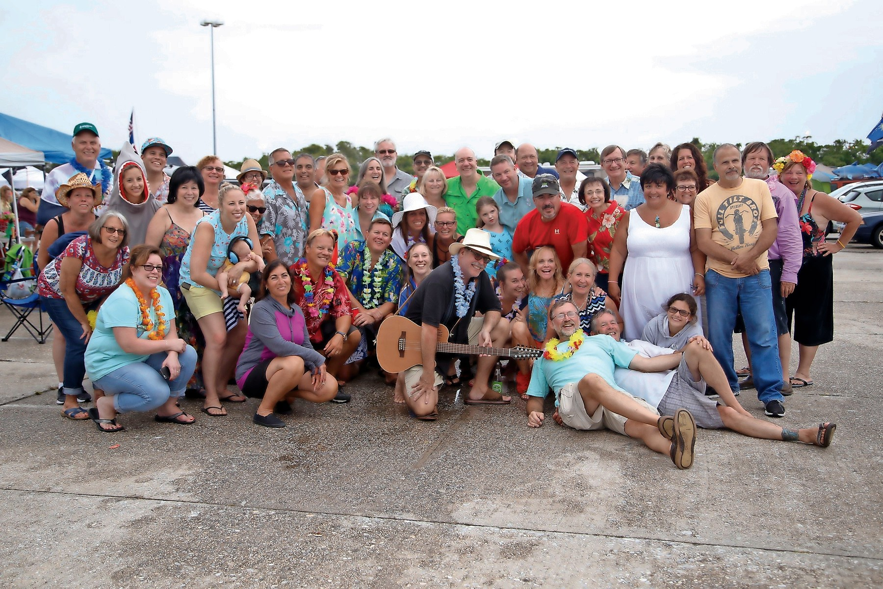Friends of Captain Crunch and the Barnacles gathered from all over the island for the annual tailgate party and Jimmy Buffett concert at Jones Beach.
