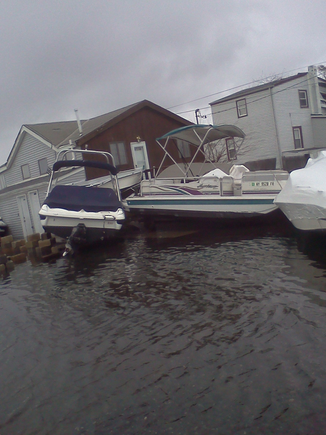 During Hurricane Sandy in 2012, water rushed into many homes and flooded Bay Park.