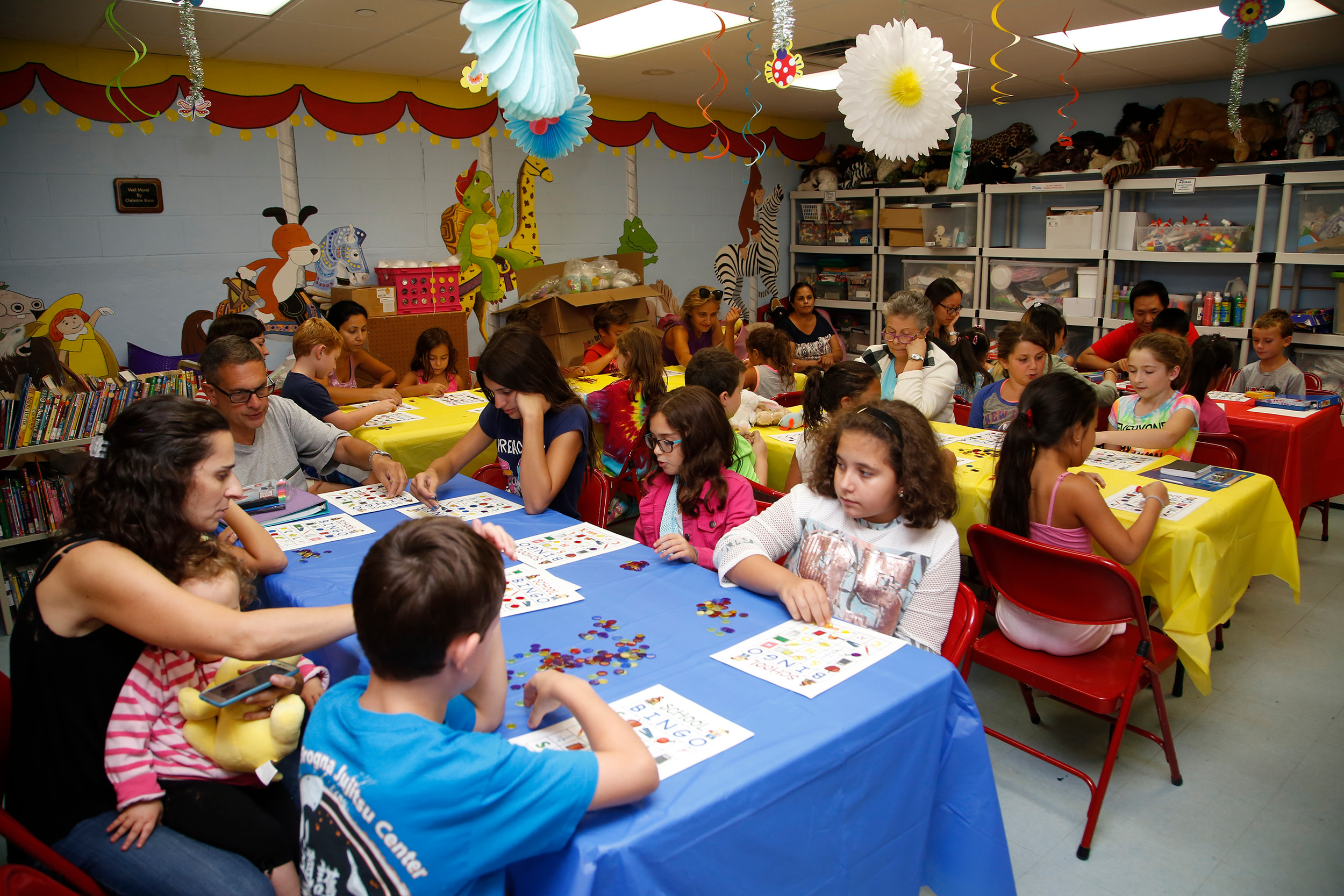Franklin Square Public Library hosted a Back-to-School Bingo game for children and their families on Aug. 28.