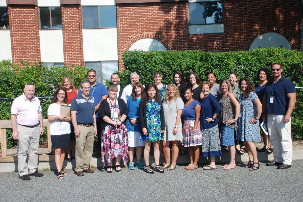 Kulanu's administrative staff joined together last month to get ready for the new school year.
