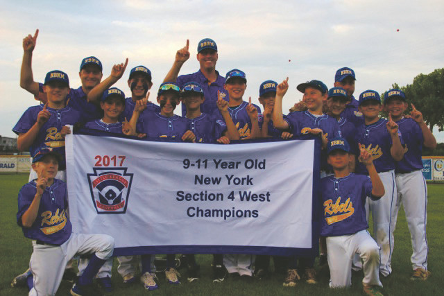 "The North Bellmore-North Merrick Rebels 11U team placed second of 400 teams competing in the Williamsport New York State Tournament. ""We definitely never give up,"" one team member said."