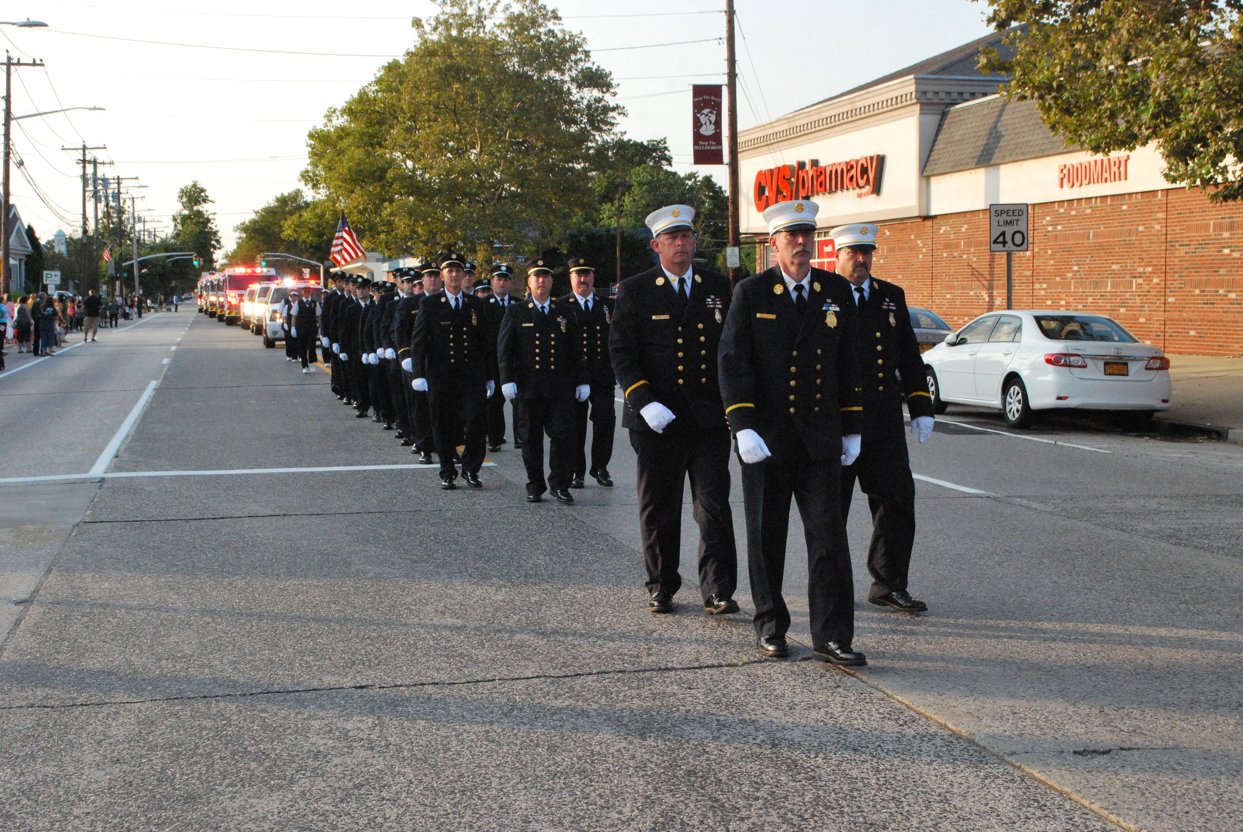 In honor of their 120th anniversary, the Bellmore Fire Department hosted the fire departments of the 6th Battalion during an annual parade.