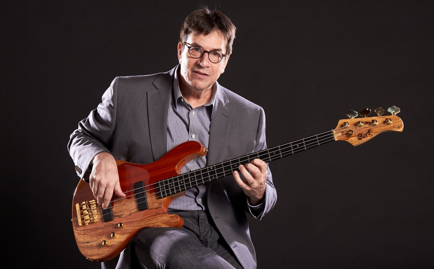 Jeff Berlin, the premiere electric bass player, makes his LBJF debut, among the renowned musicians who will appear on the festival stage.