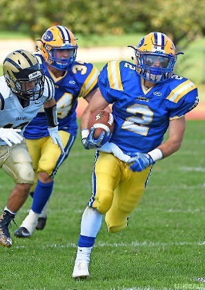 Senior Mike Wood rushed for 185 yards to lead East Meadow's ground attack in last Saturday's 18-6 season-opening victory over visiting Baldwin.