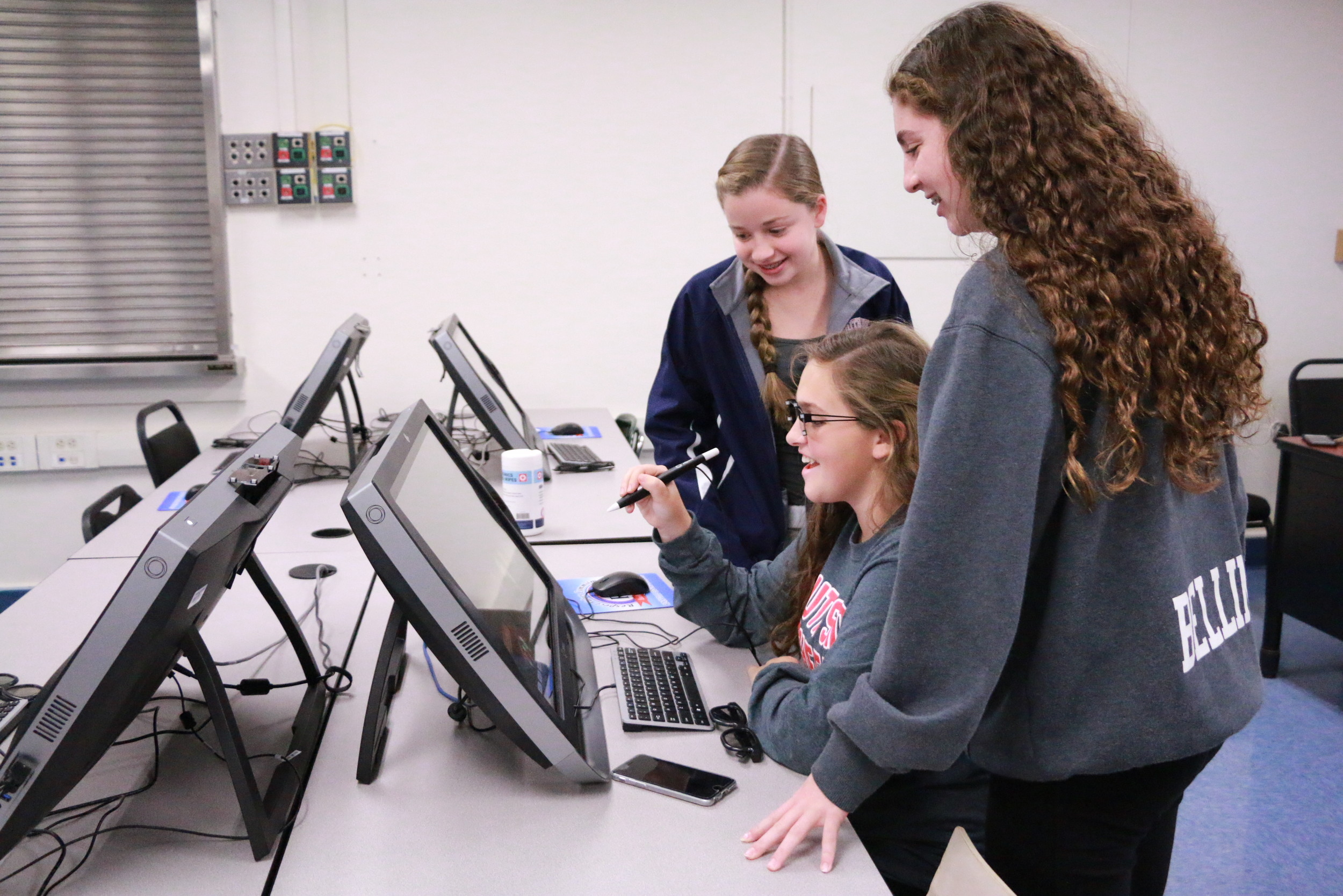 South Side High School students explored the district's zSpace virtual-reality technology, which will be available for a second straight year.