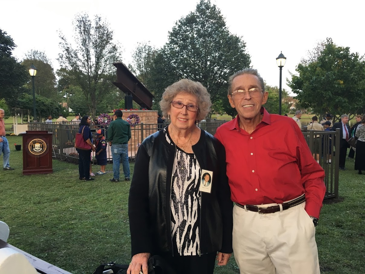 Pat Fennelly and her brother attend the Valley Stream 9/11 ceremony every year.