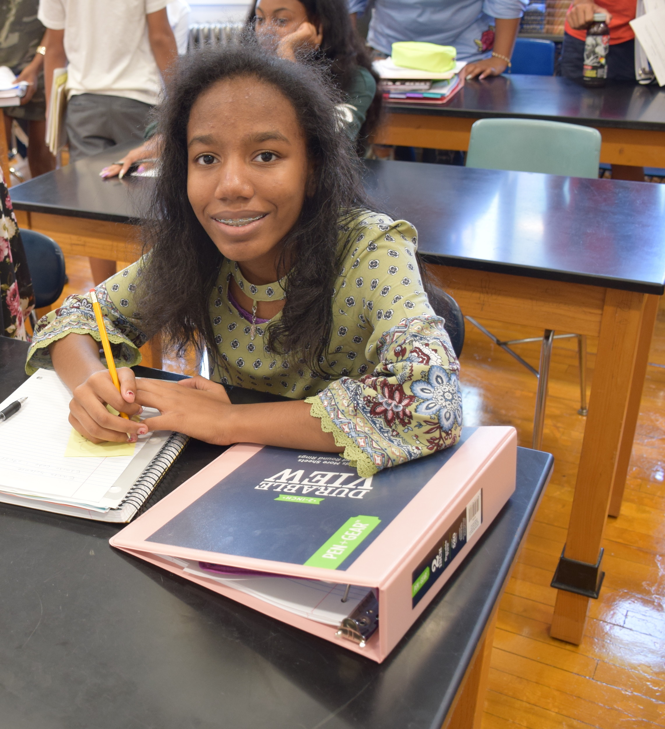 Central High School students were eager to learn on Sept. 5.