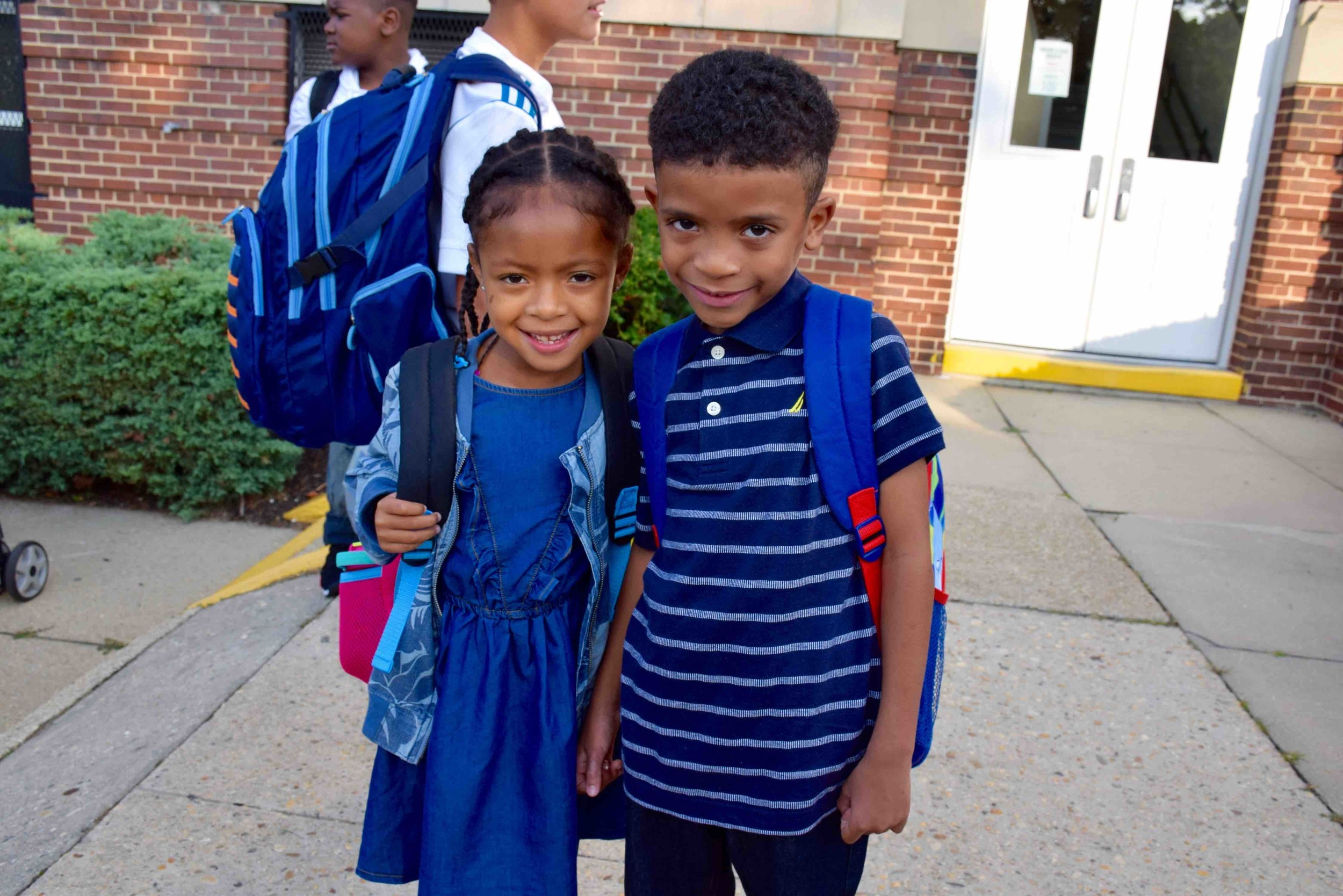 Clear Stream Avenue students prepared to start their new school year.