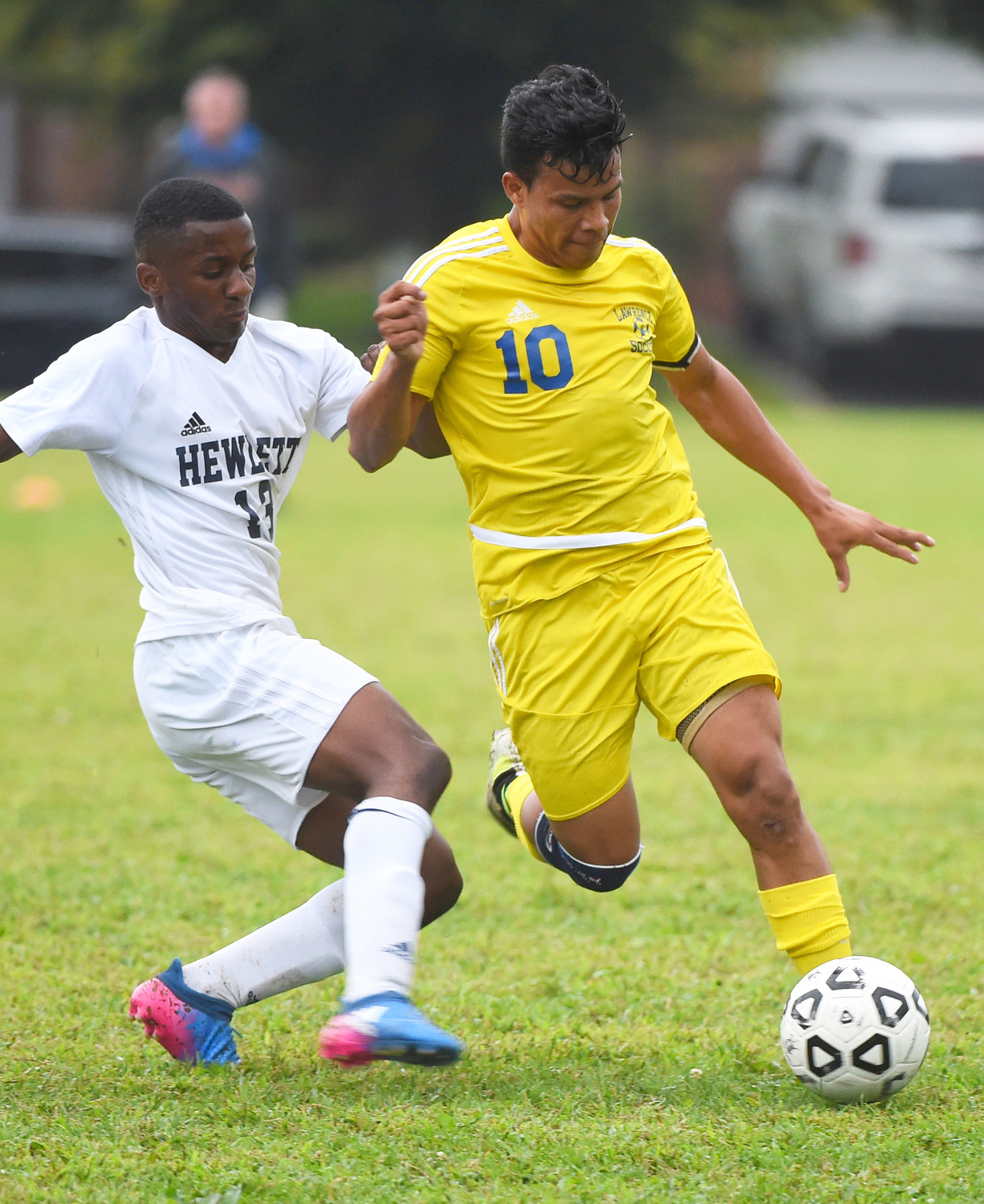 Senior Wesley Vasquez, right, with 4 goals and 4 assists, is one of many Golden Tornadoes off to a blistering start at the offensive end of the field.