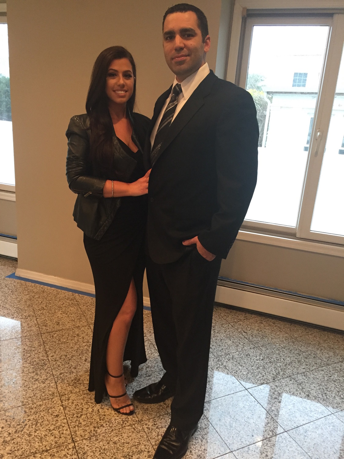 Nicole Pulizzi and Frankie Perrotta, formerly of Woodmere, 