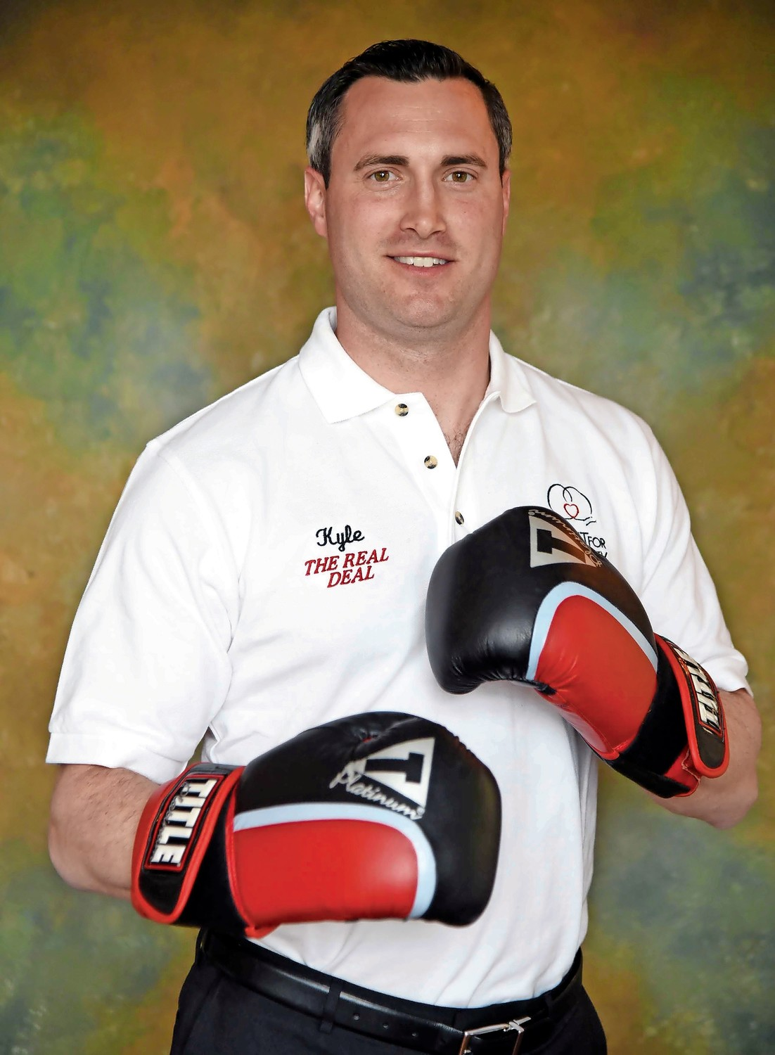 Kyle Burkhardt, of Seaford, will box in the 14th annual Long Island Fight for Charity Main Event on Nov. 20.