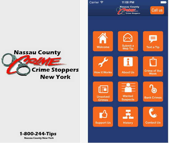As Nassau County police increase their patrols by synagogues during Yom Kippur, the public can inform the police about suspicious activity using the Crime Stoppers app.
