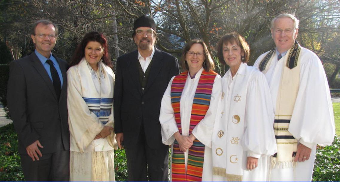 Some of the clergy at the Brookville Multifaith Campus include Rev. Bill McBride, Cantor Irene Failenbogen, Dr. Sultan Abdulhameed, facilitator of the Muslim Reform Movement Organization; Rev. Vicky Eastland, pastor of Brookville Church; Rev. Enid Kessler, Interfaith Minister and Spiritual Advisor to the Interfaith Community of Long Island; and Rabbi Stuart Paris, New Synagogue of Long Island.