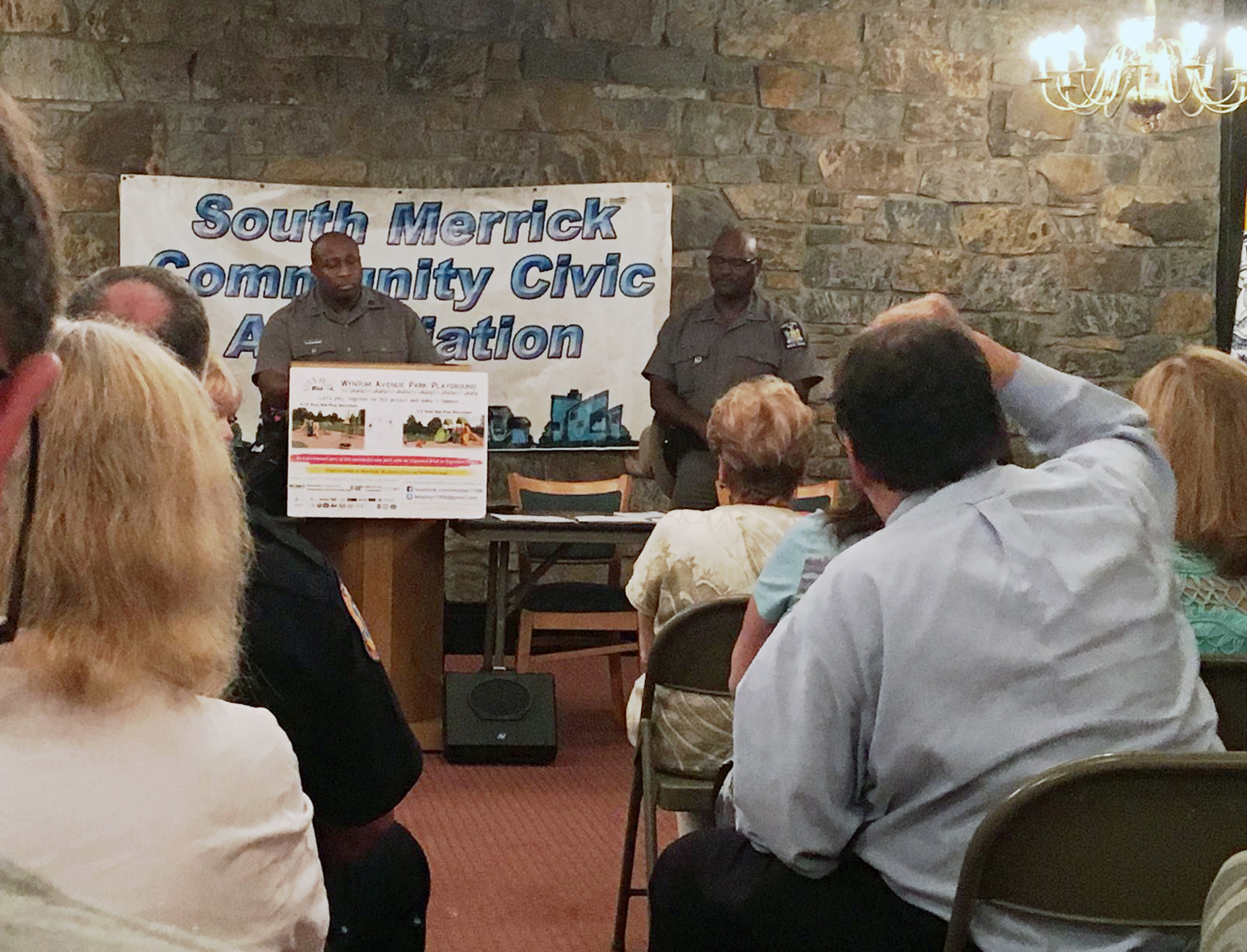 At a Sept. 26 meeting of the South Merrick Civic Association, State Troopers Raoul Allen and Howard Howard Thomas explained that police began taking steps this summer to crack down on motorcyclists speeding on the Meadowbrook and Southern State Parkways.