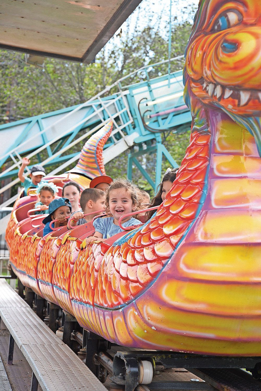 The Dragon Wheel roller coaster and other rides, attractions and food are all part of the 33rd annual Community Chest South Shore Fair this weekend at Andrew J. Parise Cedarhurst Park.
