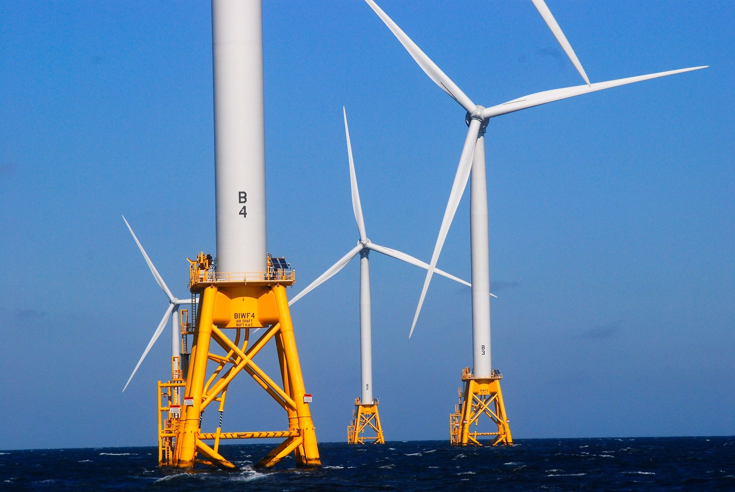 The wind farm now generates enough power for all of Block Island's 1,000 year-round and 10,000 summer residents.