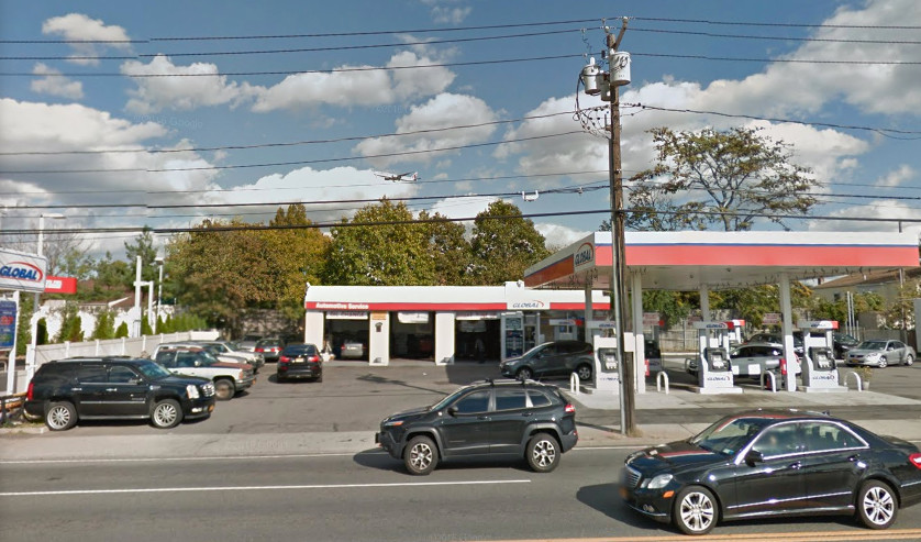 Tools and car parts were stolen from the Global gas station in Cedarhurst on Oct. 11, police said.