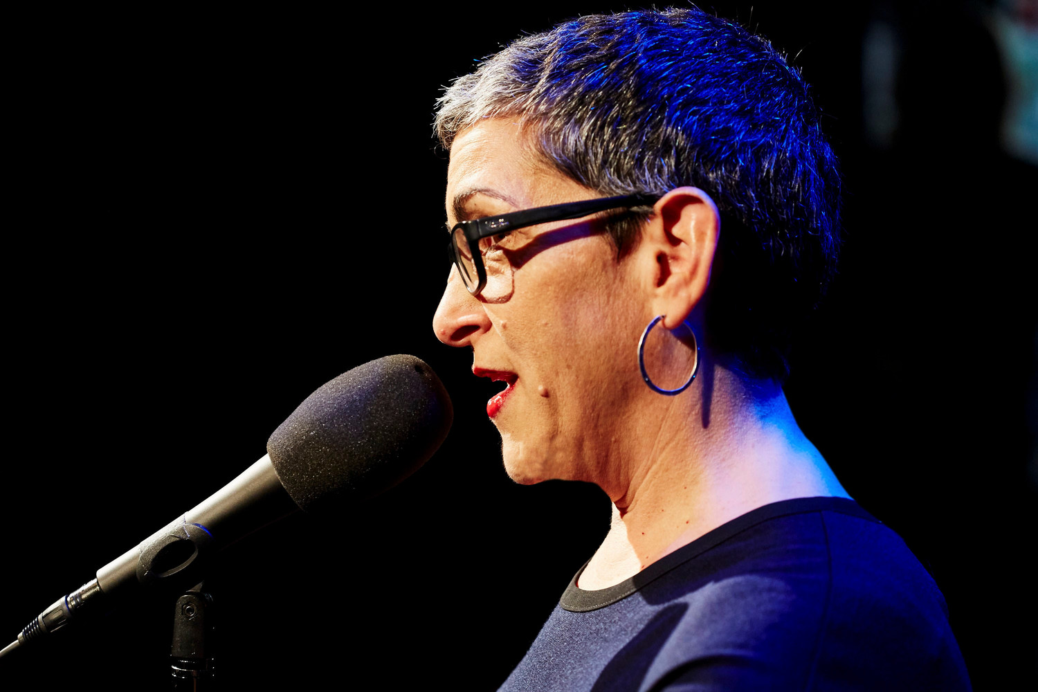 "Tracey Segarra will host her on-stage storytelling show ""Now You're Talking,"" at the Merrick Theater on Oct. 15."