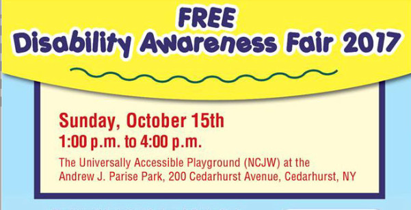 The Village of Cedarhurst along with Assembywoman Melissa Miller and the NCJW will hold a special needs resource fair  in Cedarhurst Park on Oct. 15.