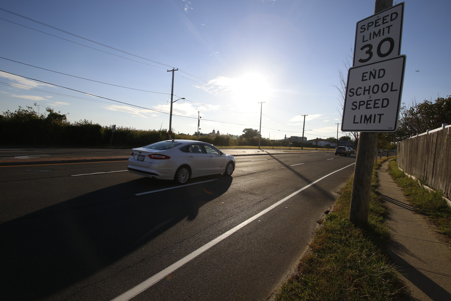 Town of Hempstead board members reduced the speed limit on a 3-mile-long stretch of Lido Boulevard from 40 to 30 mph in an effort to make streets safer for pedestrians, bicyclists and motorists.