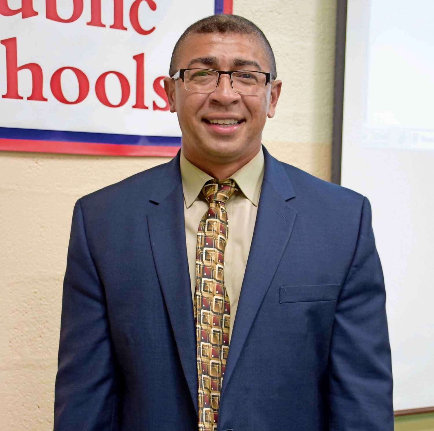 Anthony Allison is the new assistant principal of MacArthur High School in Levittown.