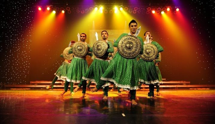 The Bollywood dance spectacular blends authentic Indian and modern techniques featuring colorful costumes and elaborate sets created in India's film capital.