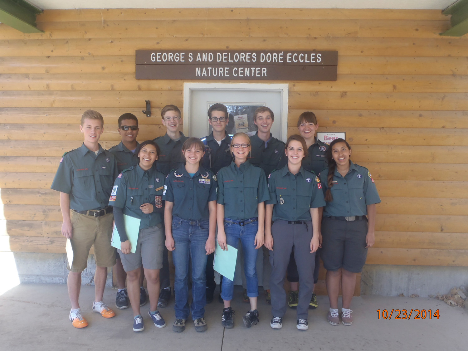 The Boy Scouts will allow girls to join Cub Scout packs next year and then create a path to Eagle Scout. Above, members of the BSA's co-ed Venturing Program.