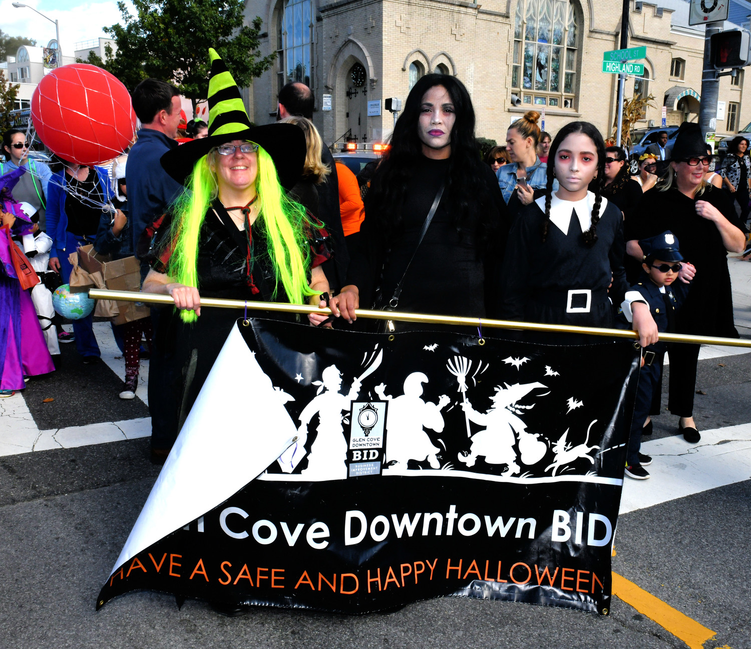 The Glen Cove Downtown BID hosted its annual kids Halloween costume parade which is always a spooky success, on Oct. 28.