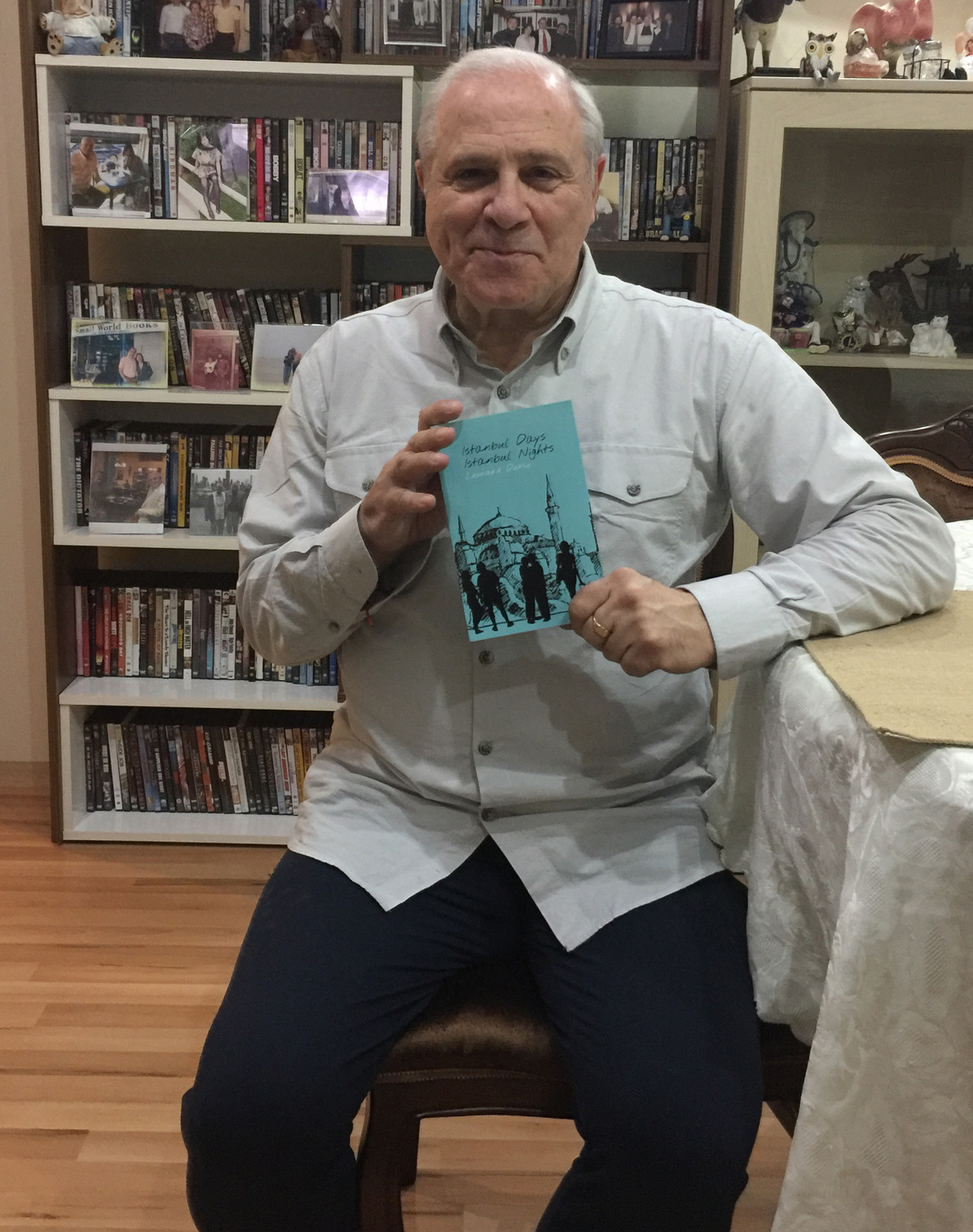 "Leonard Durso recently published his new book ""Istanbul Days, Istanbul Nights."""