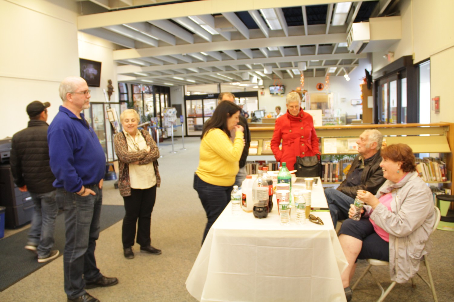 The Arts Council at Freeport held a reception to honor Freeport artist, Alexandra Marinaccio on Nov. 4 at the Freeport Memorial Library.