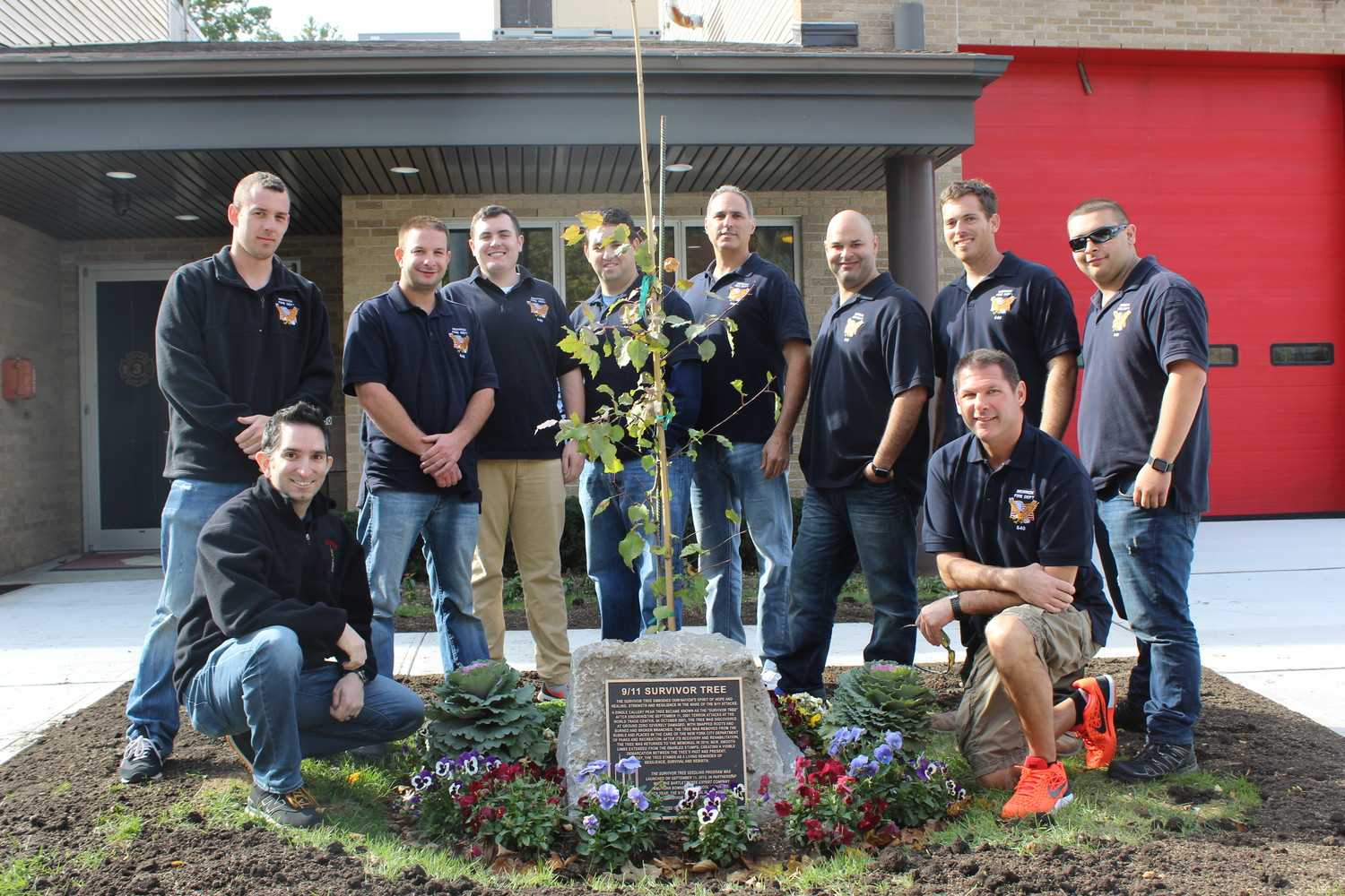 "The Merrick Fire Department recently received a ""Survivor Tree,"" or a seedling from the Callery pear tree that was brought back to health after making it through the Sept. 11 terrorist attacks."