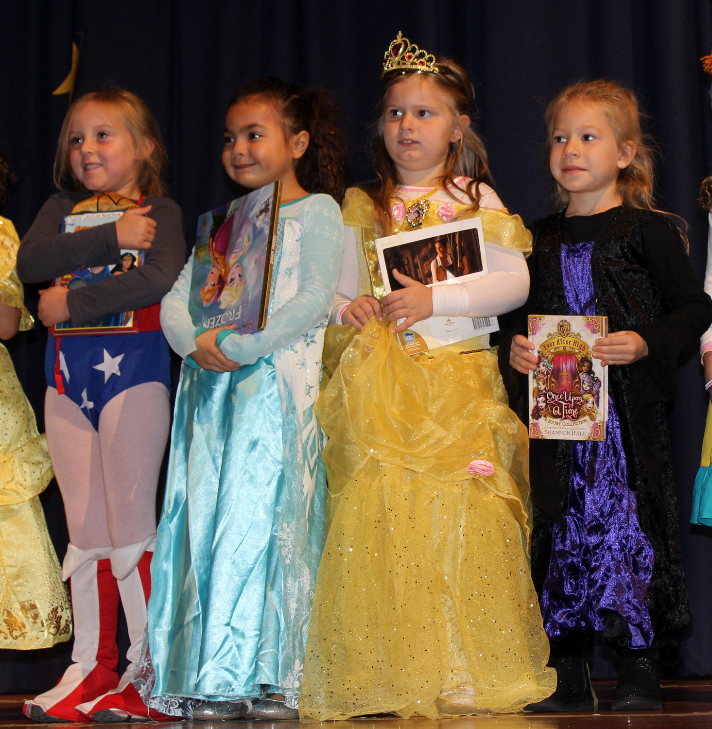 Reinhard students read books about superheroes and princesses and dressed up as their role models for Halloween.