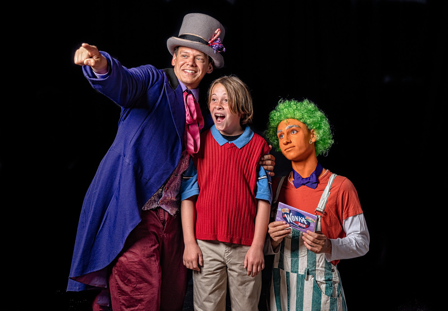 "Visit with the candy man when Plaza Theatrical Productions stages ""Willy Wonka"" in Bellmore, Friday through Sunday."