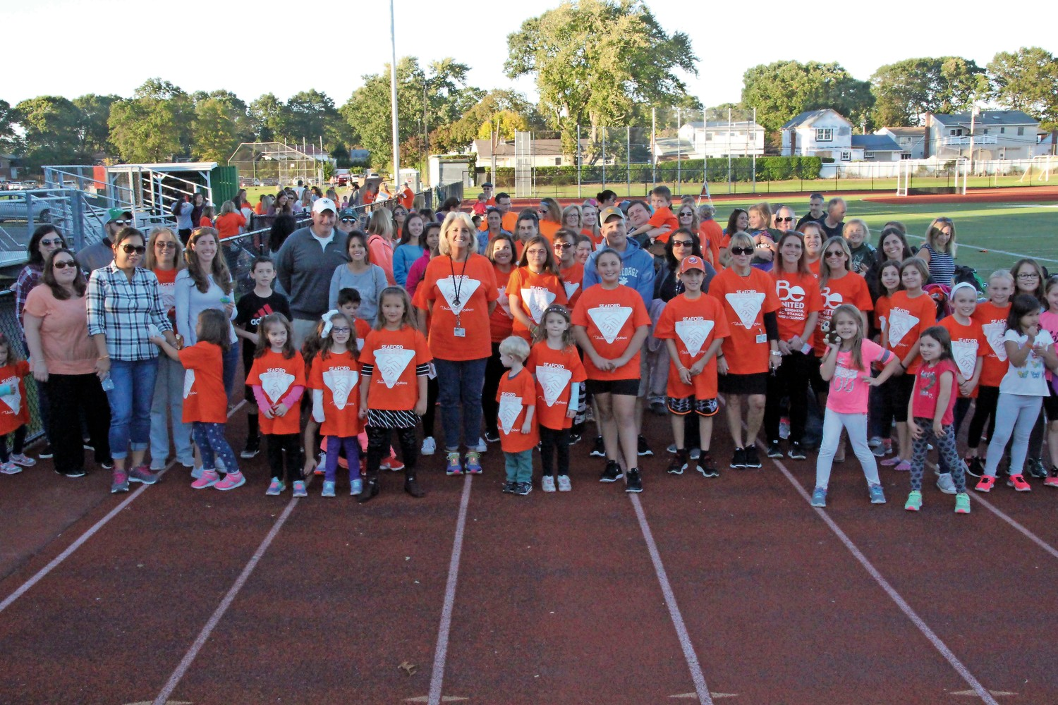 Members of the Seaford School District and community participated in a Unity Walk on Oct. 20 to promote kindness and inclusion for students.