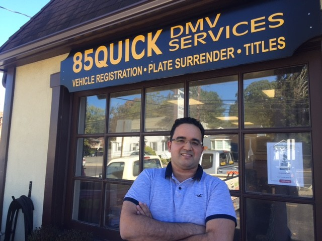 RVC resident Carlos Vargas opened a DMV expediting service on Forest Ave., in Glen Cove in early October.