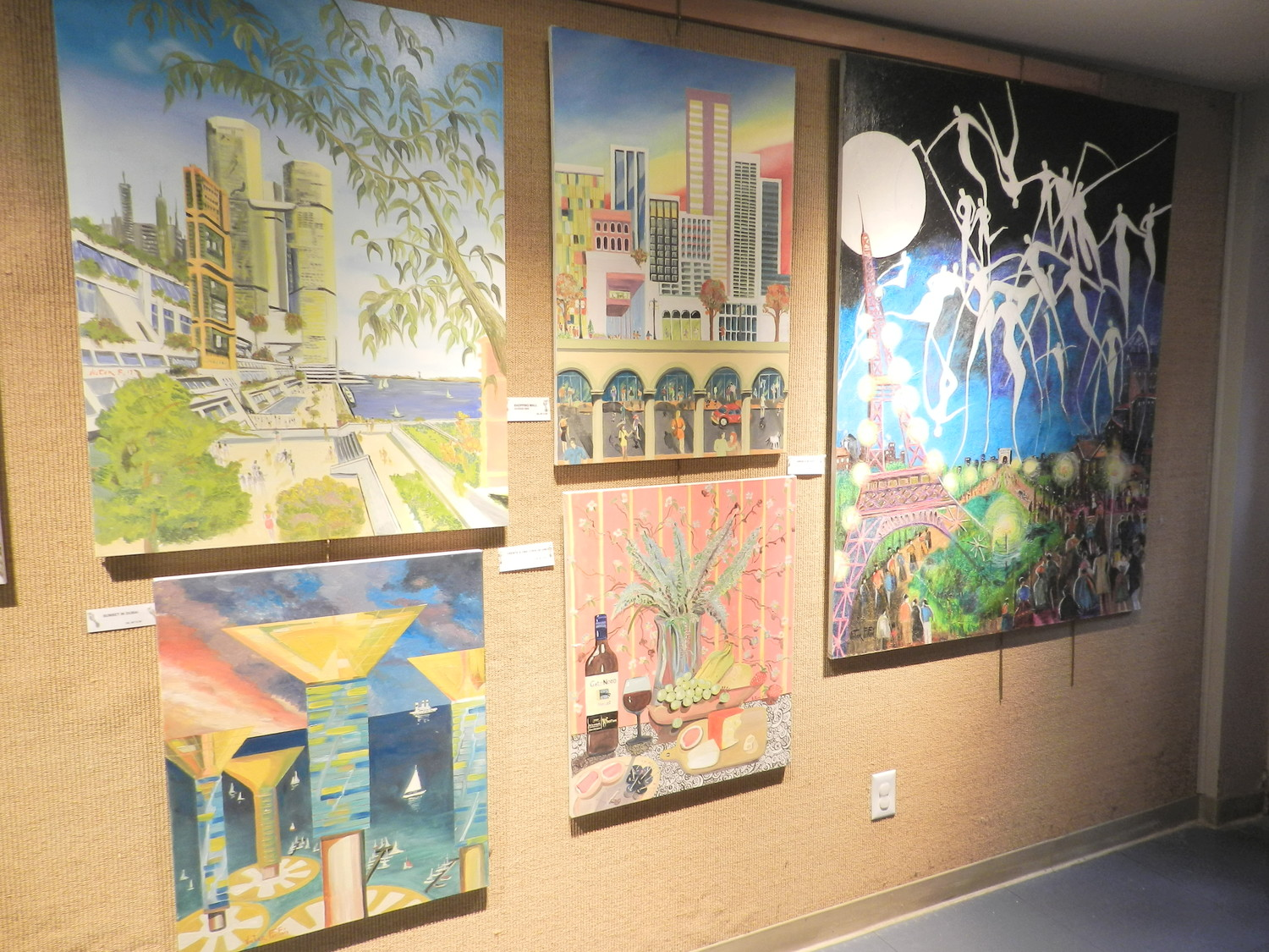 Peruvian painter gives the gift of art to Glen Cove | Herald ...