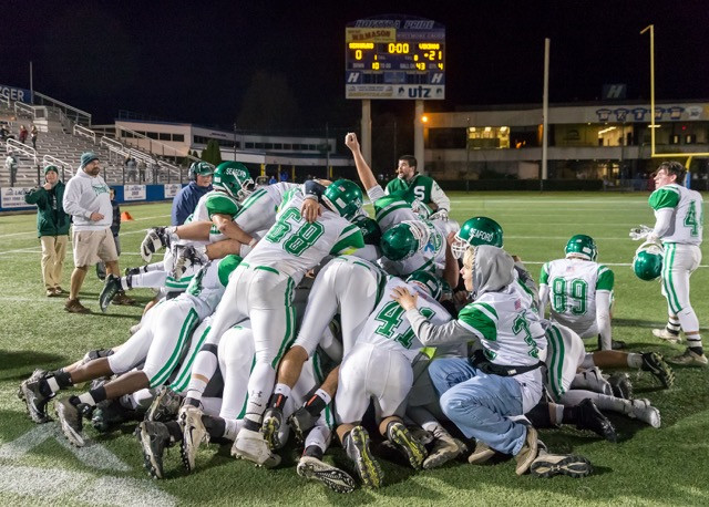 Seaford repeated as Nassau Conference IV champs with an impressive 21-0 win over Cold Spring Harbor on Thursday night.