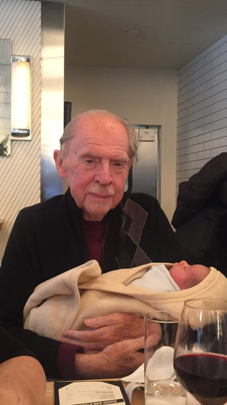 Bernard Otterman died at the age of 80, shortly after the birth of his newest grandson, Bodi.
