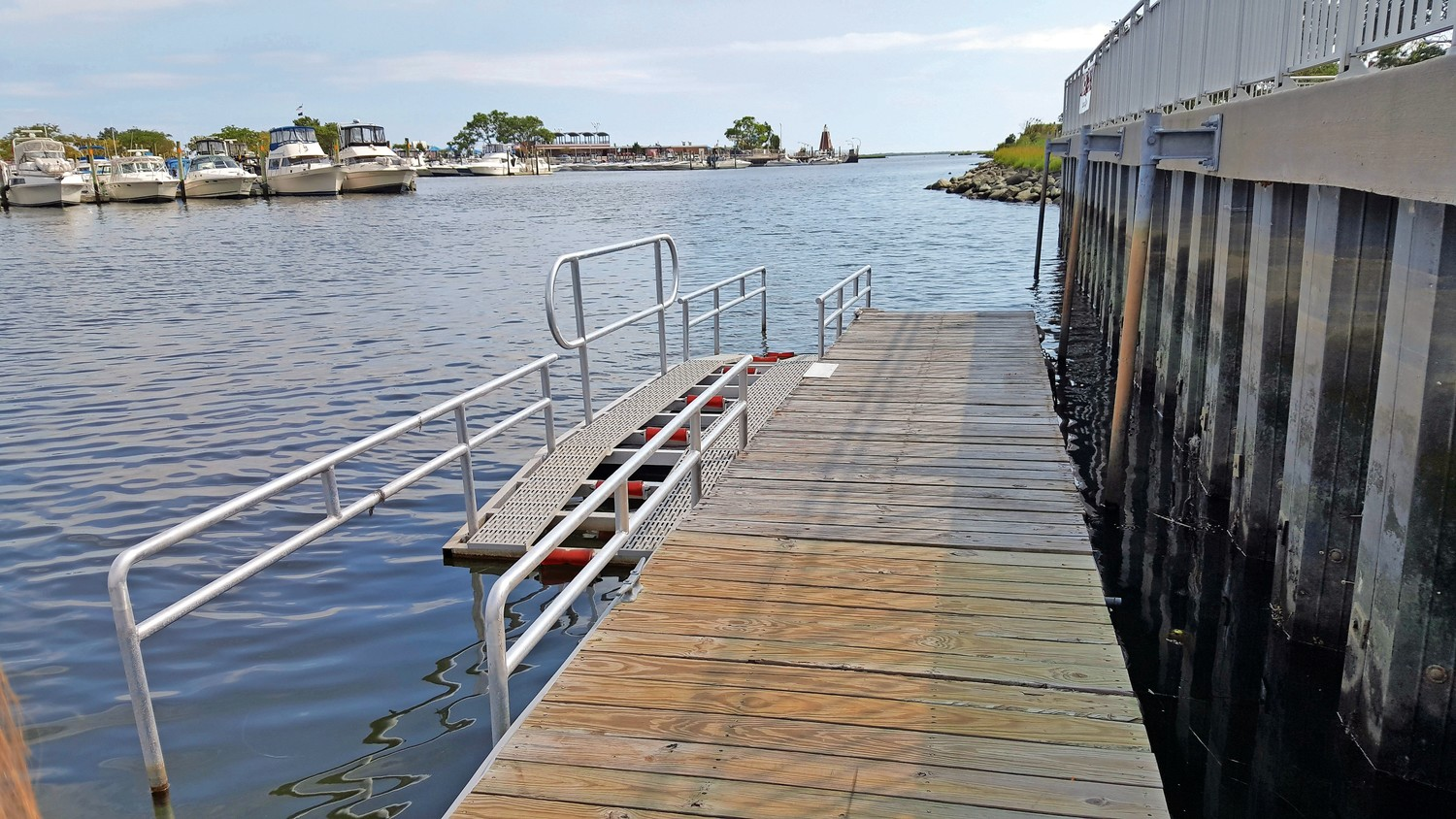 One of the projects that the grants will fund is the installation of a kayak launch in Freeport, similar to this one that was built in Wantagh Park.