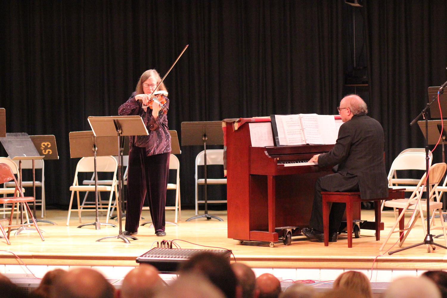 Anne Yarrow commissioned and recorded all 12 of Rothgarber's pieces for violin and piano and performed a few of them at the concert honoring the composer. Leonard Lehrman accompanied Yarrow on piano.