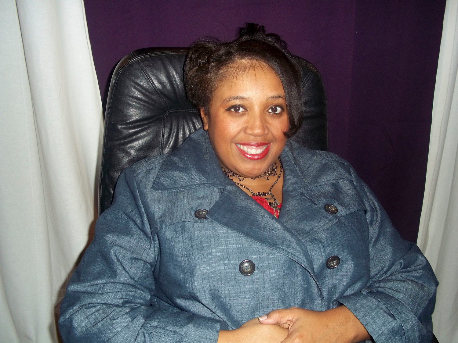 Denice Evans-Sheppard is committed to engaging the community.