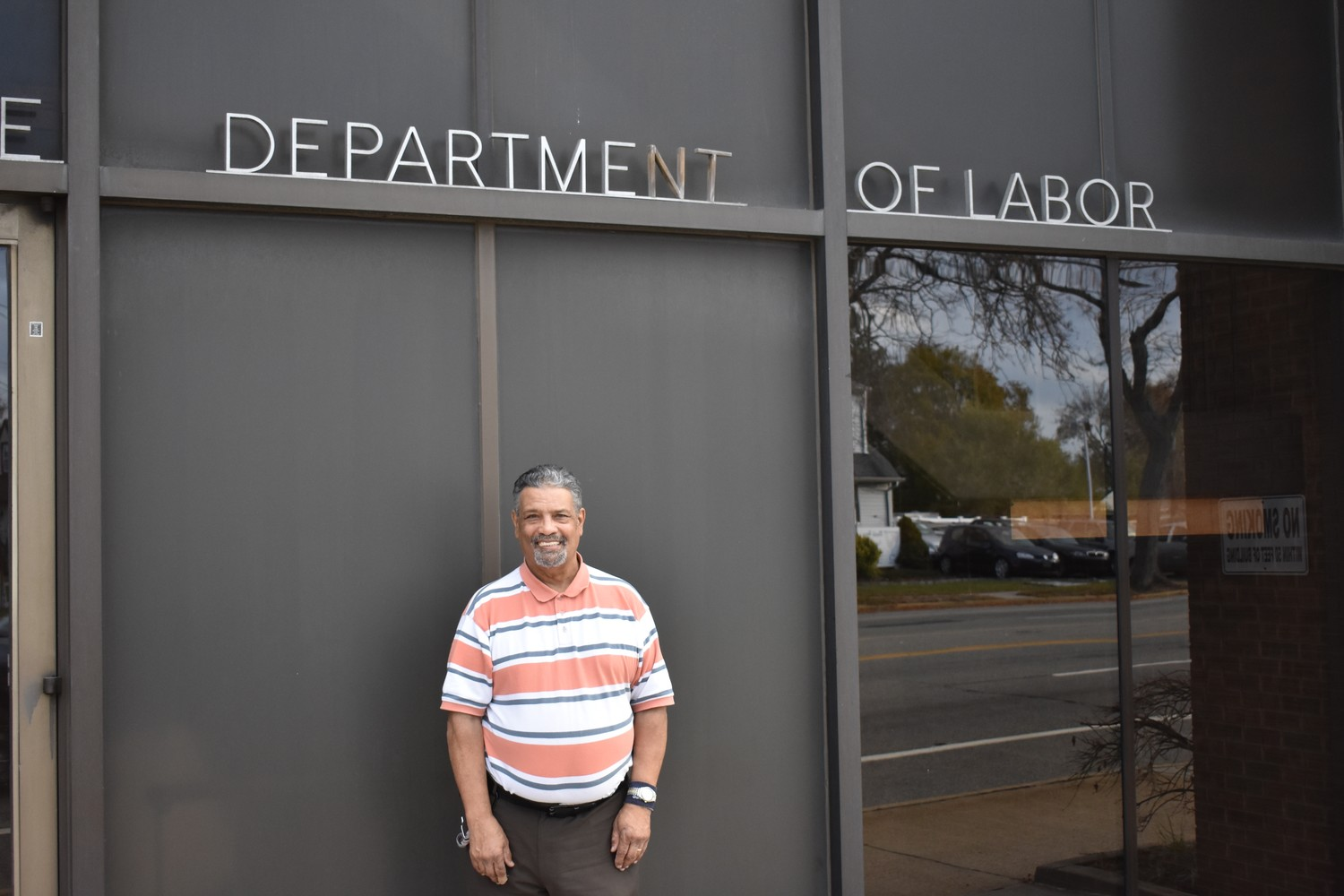 Joseph Forte landed his dream job at the New York State Department of Labor's Hickville Career Center in 2009, and has worked hard there as a custodian.
