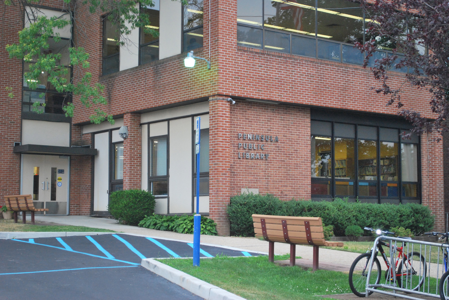 Peninsula Public Library's board has begun planning for a new library, which will be built near Zion Park on Central Avenue in Lawrence, and will replace the existing building, above, at 280 Central Ave., also in Lawrence.