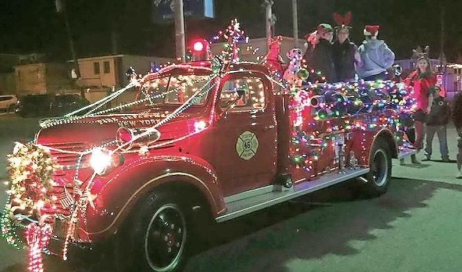 The fifth annual Electric Light Parade will run down Beech Street on Dec. 9.