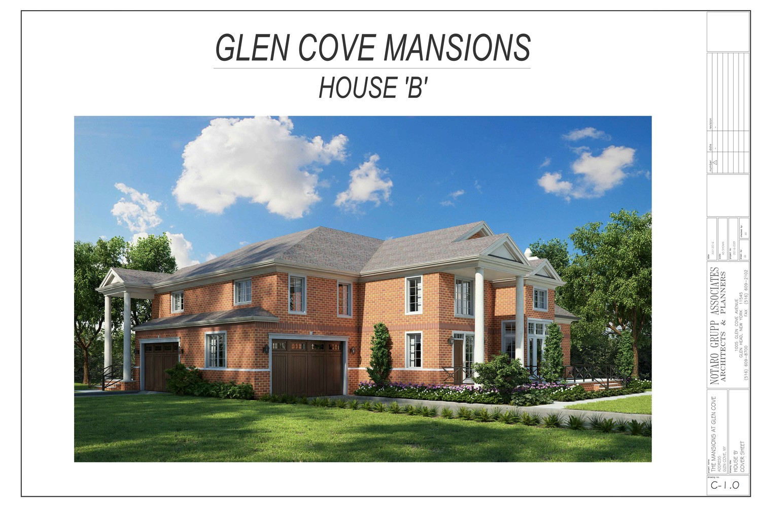 The Residences at The Mansion project will have 40 single-family luxury homes.