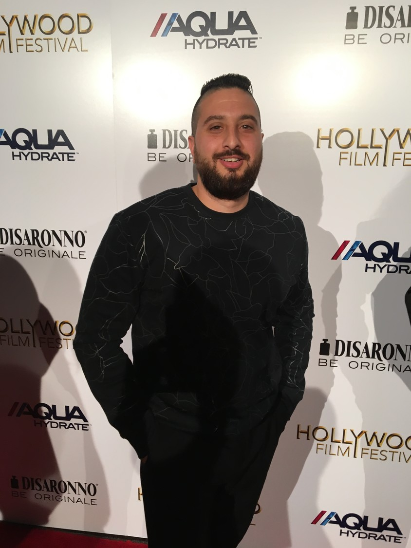 Budion walked the red carpet and participated in interviews at a Paramount Studios event.