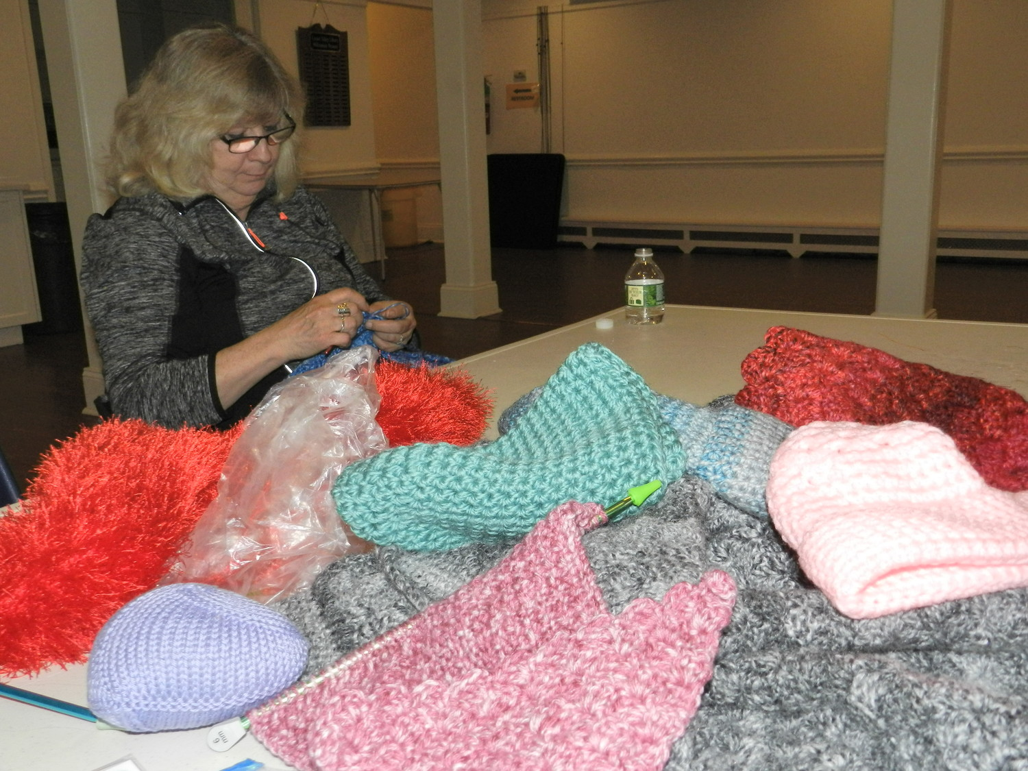 "Audrey Martello said that Knitted Knockers allows her to ""do good with a great hobby."""