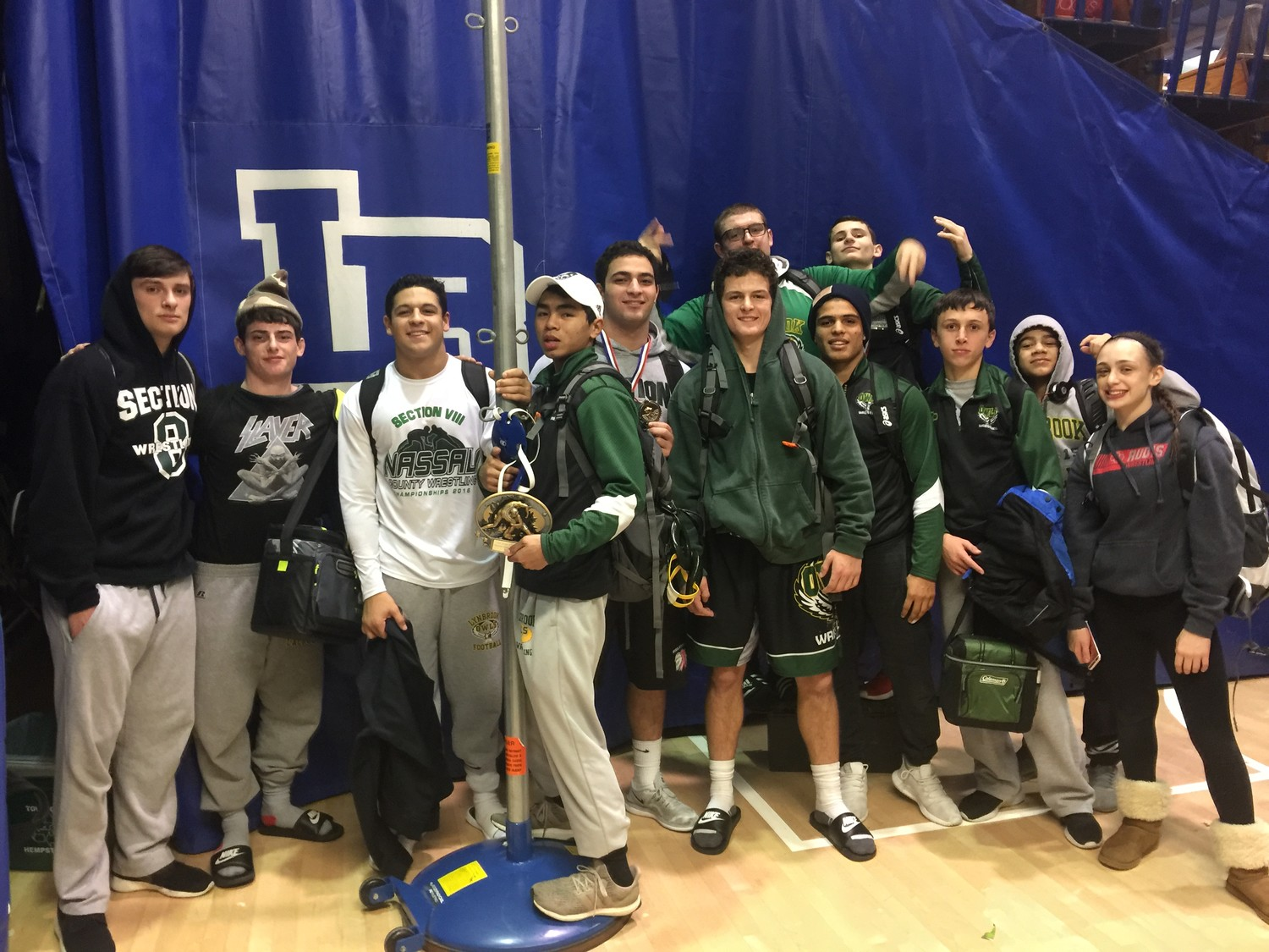 The Lynbrook wrestling team placed fourth out of 15 teams in a recent tournament in Long Beach.