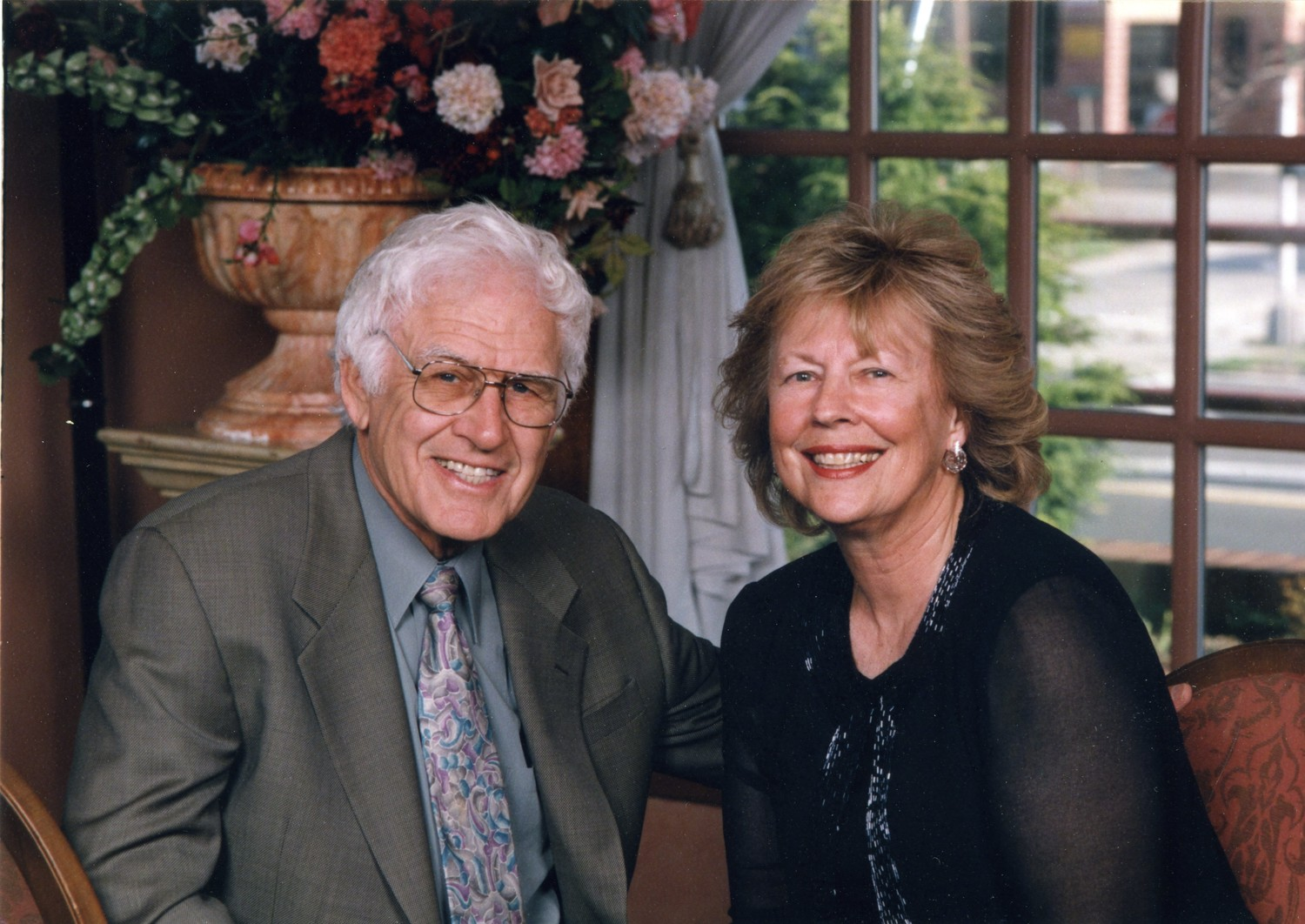 Sanford and Nancy Epstein were married for 66 years and raised their family in Glen Cove.