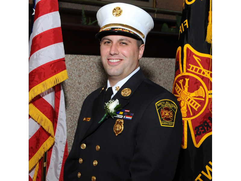 Edward Kraus Jr. was reelected as fire commissioner of the North Bellmore Fire District